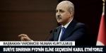 Suriye sınırının PYDnin eline geçmesini kabul etmiyoruz
