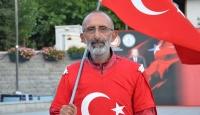 Darbeyi protesto etmek için yola çıkan Çolak, Ankaraya ulaştı