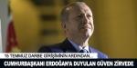 Cumhurbaşkanı Erdoğana duyulan güven zirvede