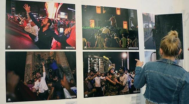Demokrasi Zaferi Fotoğraf Sergisi açıldı