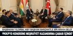 Başbakan Yıldırım, IKBY Başkanı Barzani'yi kabul etti