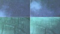 Hava harekatından ilk görüntüler
