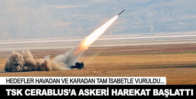 TSKdan Cerablusa askeri harekat