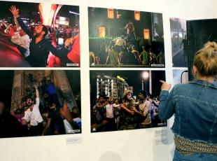 Üsküpte Demokrasi Zaferi Fotoğraf Sergisi açıldı