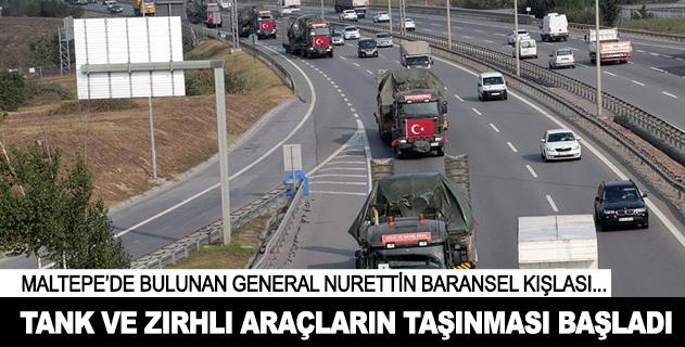 Askeri birliklerin şehir dışına taşınmasına başlandı
