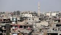 Nusaybinde ağır hasarlı yapıların yıkımı sürüyor