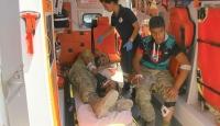 Yaralanan ÖSO mensupları Gaziantepe getirildi
