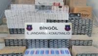 Bingölde 13 bin 740 paket kaçak sigara ele geçirildi