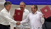 Kolombiyada 52 yıllık savaş sona erdi