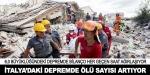 İtalya'daki depremde ölü sayısı 247'ye yükseldi