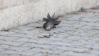 Vanda PKK mensuplarınca havan mermisi atıldı