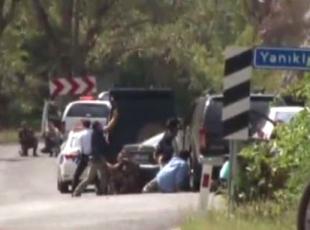 Kılıçdaroğlunun konvoy güzergahında çatışma