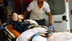 Cerablus'ta yaralanan Suriyeli 2 kardeş Gaziantep'e getirildi