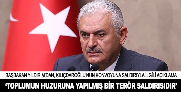 """""""Ülkemizin demokratik istikrarına yapılmış bir saldırıdır"""""""