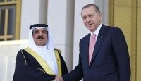 Cumhurbaşkanı Erdoğan Bahreyn Kralı Halifeyi törenle karşıladı