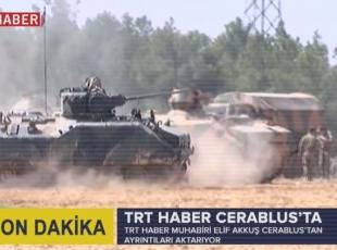 TRT Haber Cerablus'ta