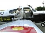 Kırgız pilot, tek motorlu uçakla dünya turuna çıktı