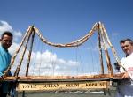 Yavuz Sultan Selim Köprüsünün böreği hazır