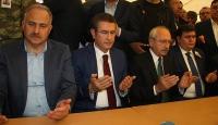 Kılıçdaroğlu ve Canikliden şehit ailesine taziye ziyareti