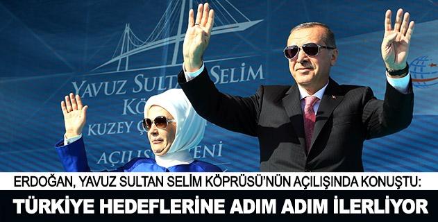 Cumhurbaşkanı Erdoğan: Türkiye hedeflerine adım adım ilerliyor