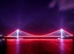 Yavuz Sultan Selim Köprüsünde görsel şölen