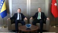 Erdoğan, İzzetbegoviç ile görüştü