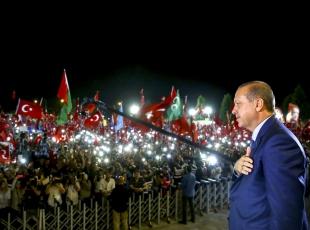 Erdoğan'ın görevde ikinci yılı
