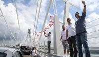 Yavuz Sultan Selim Köprüsüne yoğun ilgi
