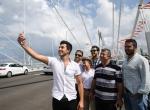 Yavuz Sultan Selim Köprüsüne vatandaşlardan yoğun ilgi
