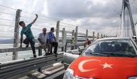 Yavuz Sultan Selim Köprüsünde selfie trafiği
