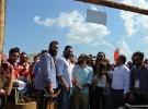 Diriliş Ertuğrul dizisi oyuncuları Etnospor'u ziyaret etti