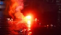 """""""Darbeye Hayır Sualtı"""" sergisi denizin 5 metre derinliğinde açıldı"""