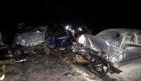 Afyonkarahisarda trafik kazası: 1 ölü, 4 yaralı