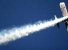 Çin'de gösteri uçağı düştü