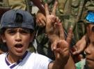 Cerablus'ta çocukların 'özgürlük' sevinci