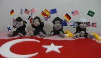 FETÖ Dört maymun sergisinde