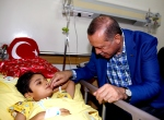 Erdoğandan hastane ziyareti