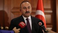 Çavuşoğlu: YPGnin Fıratın doğusuna geçmesi gerekiyor