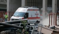 İzmirde iş kazası: 1 ölü, 1 yaralı