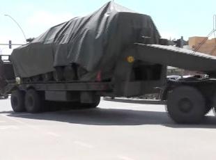 Ankaradaki tanklar, Çankırıya getirilmeye devam ediyor