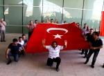 Diyarbakırda terör saldırısı protesto edildi