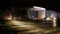 AKMde 30 Ağustos törenleri için kurulan platform yıkıldı