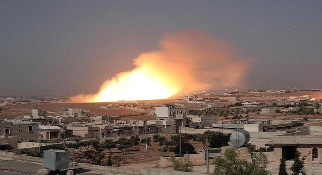 İdlibe hava saldırısı: 12 ölü
