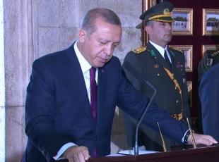 Erdoğan'dan 30 Ağustos mesaji