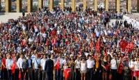 30 Ağustos Zafer Bayramı coşkuyla kutlanıyor