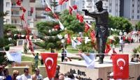 Demokrasi kahramanı Halisdemirin heykeli açıldı