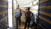 Türkiyeden Halepe 26 ton su yardımı