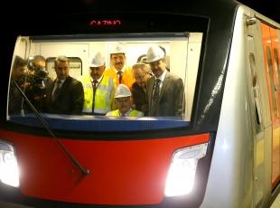 Başbakan Yıldırım, Keçirören Metrosunda test sürüşü yaptı
