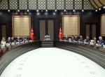 Cumhurbaşkanı Erdoğanın kabulü