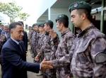 Azeri Bakan Usubov, Özel Harekatı ziyaret etti